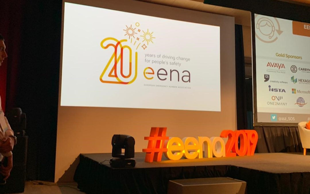 Deveryware was at EENA conference