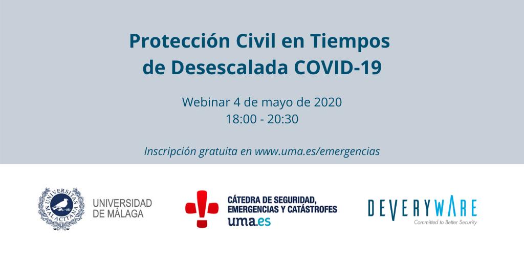 Protección Civil en Tiempos de Desescalada COVID-19