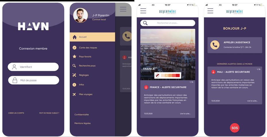 Deveryware y Amarante lanzan una nueva solución dedicada a la seguridad de los empleados