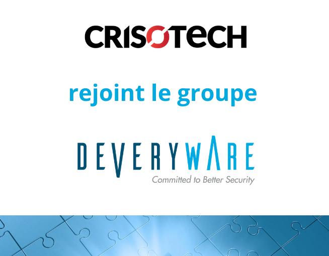Crisotech rejoint le Groupe Deveryware