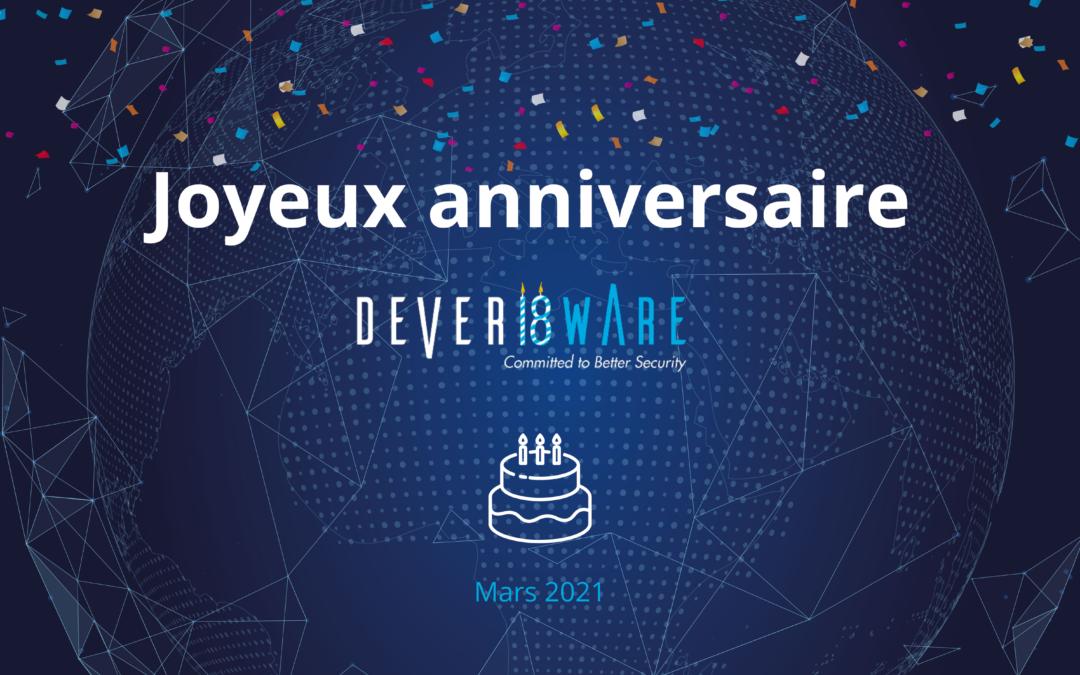 Deveryware fête ses 18 ans
