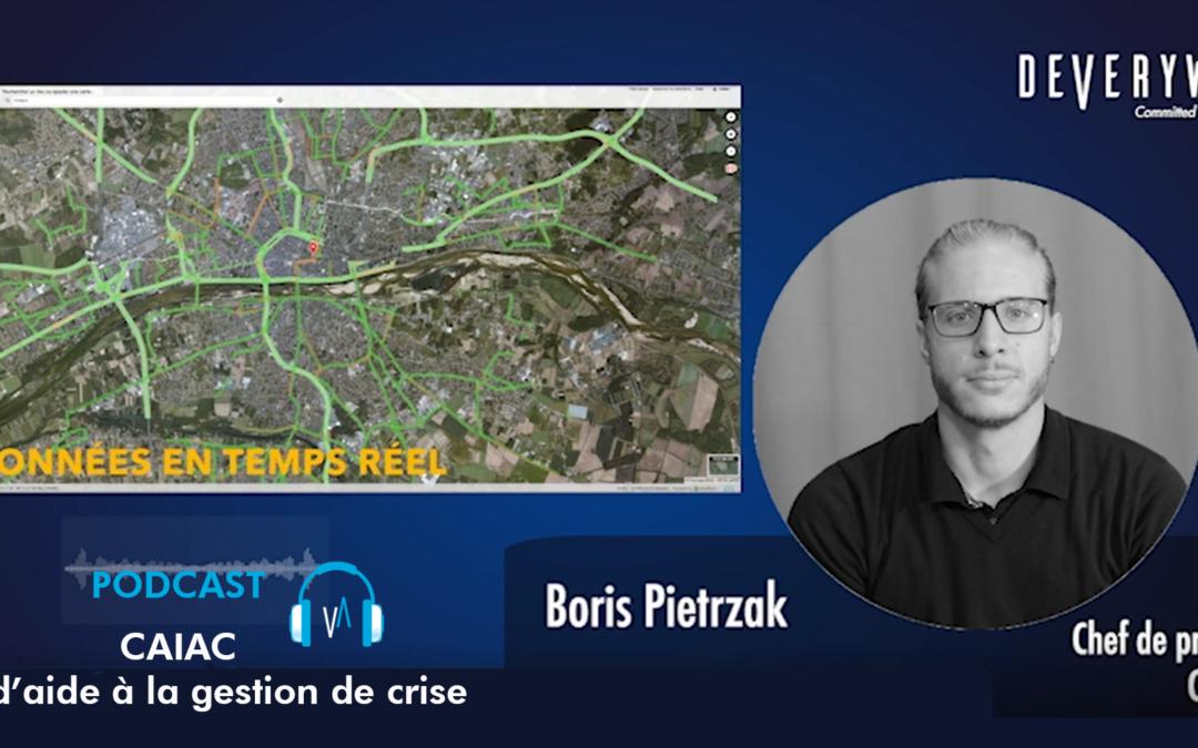 Boris PIETRZACK, Geomatician de Crisotech presenta CAIAC, herramienta de apoyo a la toma de decisiones